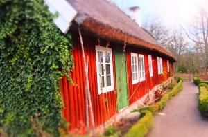 Schwedenhaus in skansen