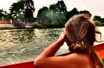 Bootsfahrt in Ayuttahya