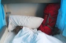 und so gemütlich kann man schlafen - sogar zu 3 ;-)