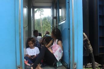 Eine Zugfahrt die ist schön.....