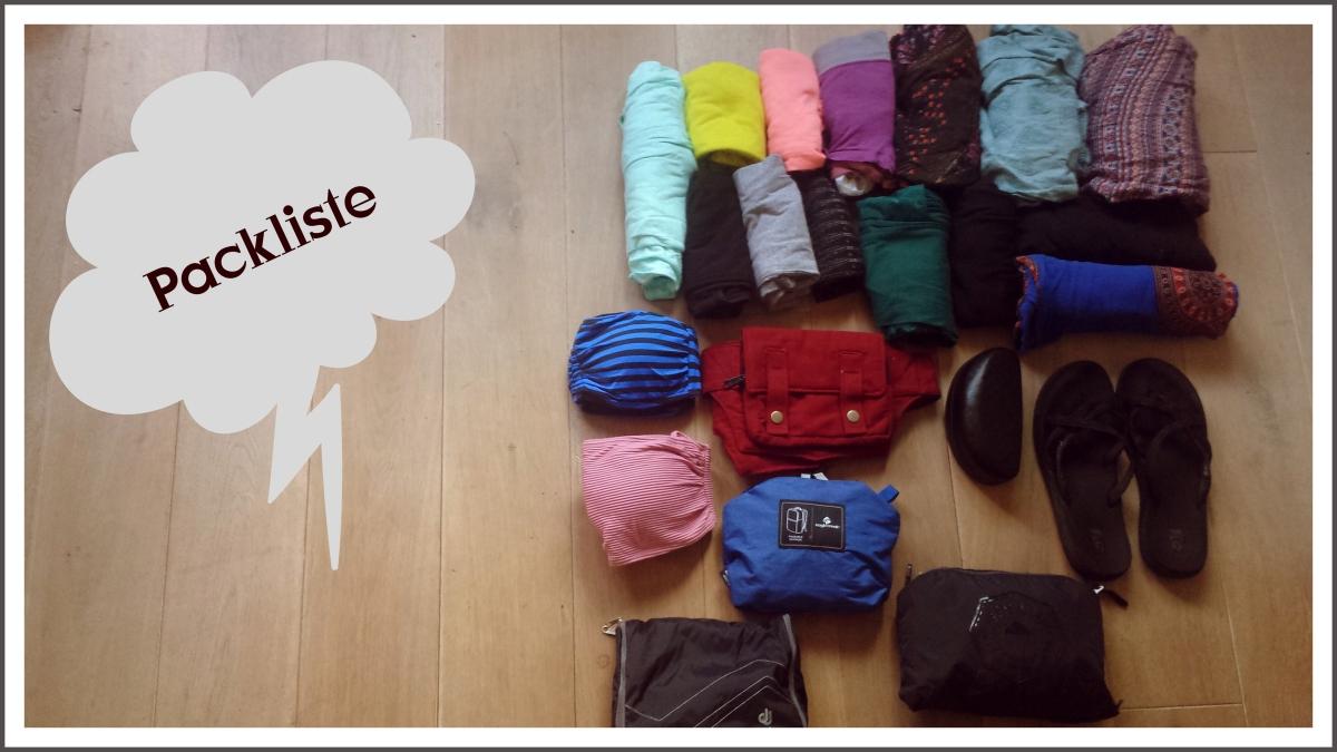 Packliste – 6 Wochen Sri Lanka &Indien