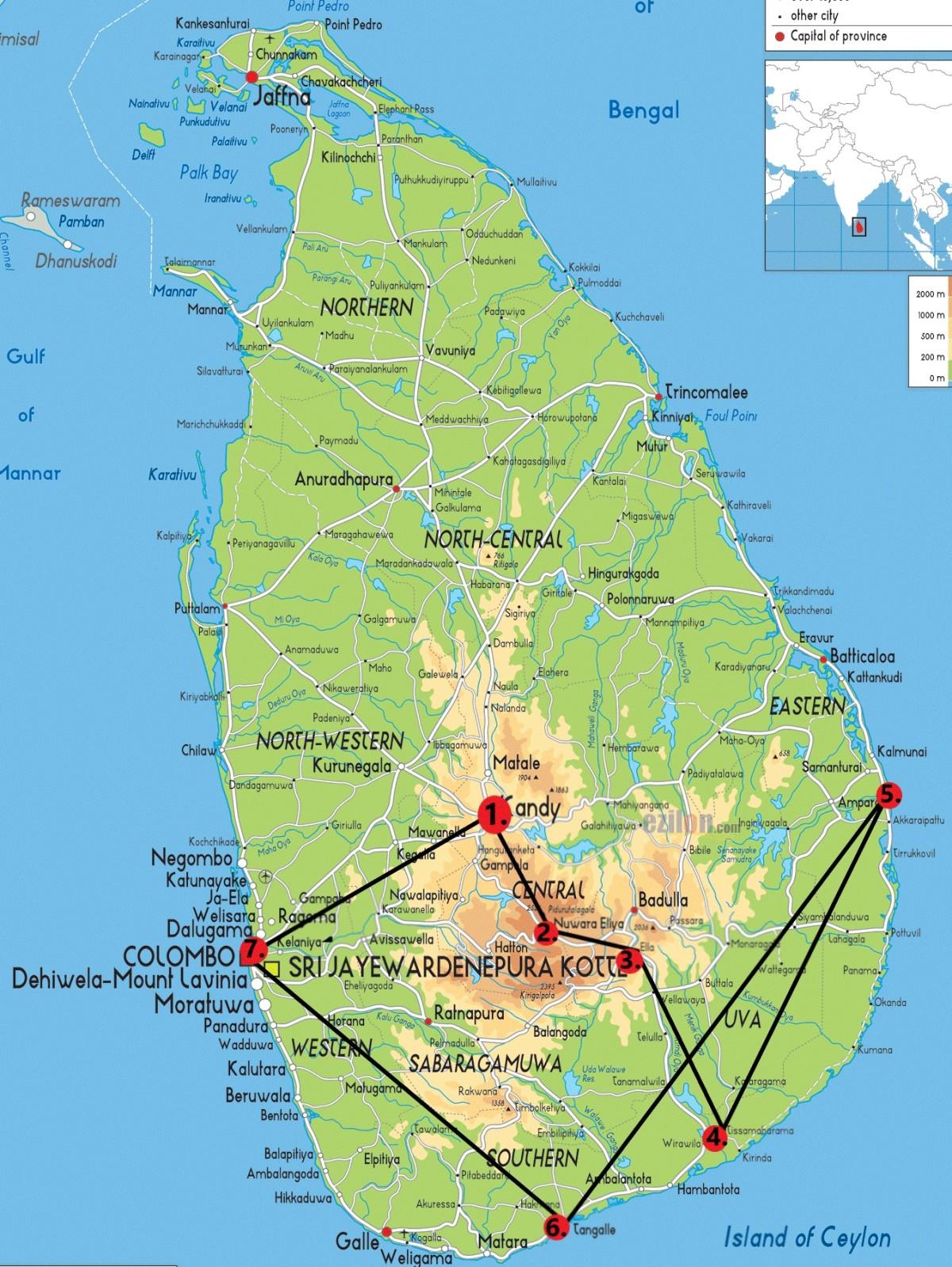 18 Tage durch Sri Lanka /Kosten