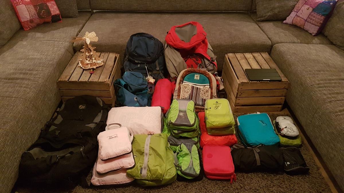 Packliste für unsereWeltreise