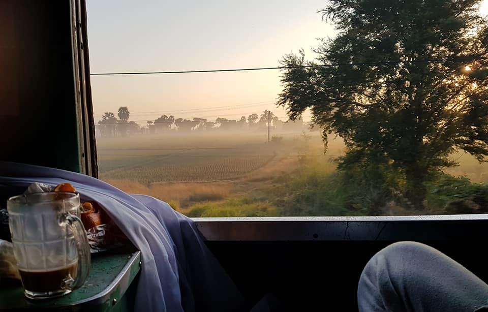 Mit dem Nachtzug durchMyanmar