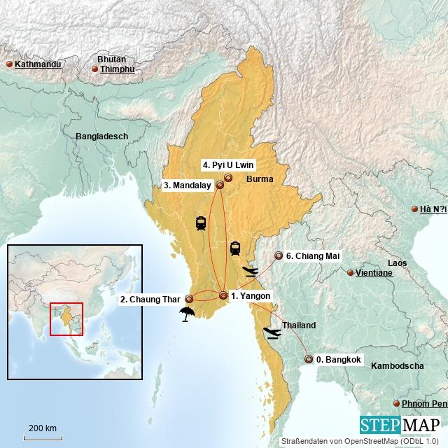 Myanmar – so anders alserwartet