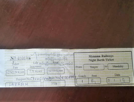 Tickets werden hier noch per Hand ausgestellt