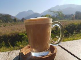 Mein Cafe am Morgen