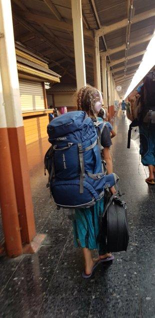 Es geht zum Zug in Chiang Mai