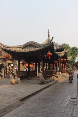Strasse in Jiansuhi