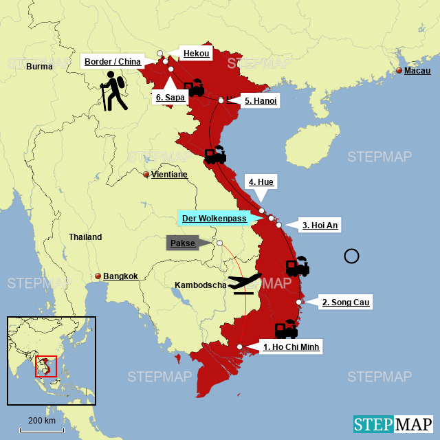 Vietnam – unsereRoute
